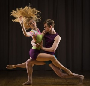 Erica Felsch and Christian Squires in Susan Roemer's designs Photo: Russell Yip, The Chronicle